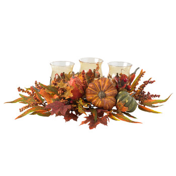 Harvest Triple Candleabrum - SKU #4909
