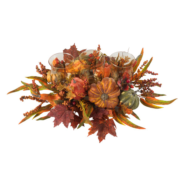 Harvest Triple Candleabrum - SKU #4909 - 1