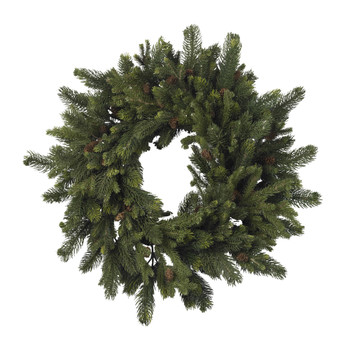 30 Pine Pinecone Wreath - SKU #4915