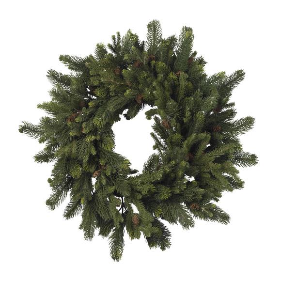 30 Pine Pinecone Wreath - SKU #4915