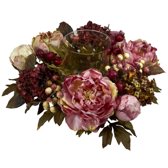 Peony Hydrangea Candelabrum - SKU #4931 - 1