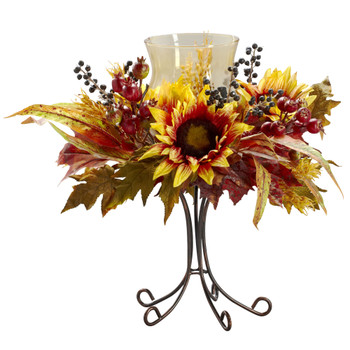 Sunflower Candelabrum - SKU #4933