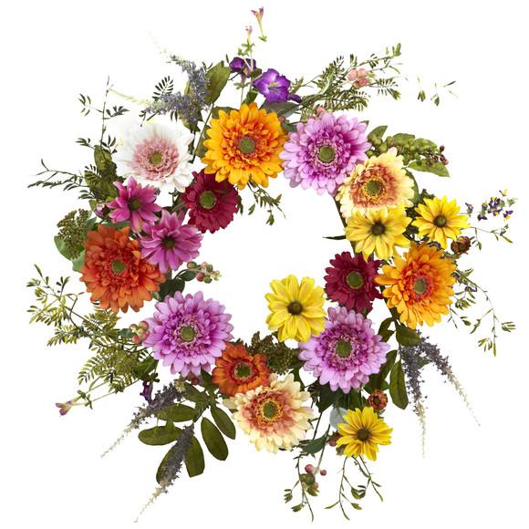26 African Sunflower Wreath - SKU #4936