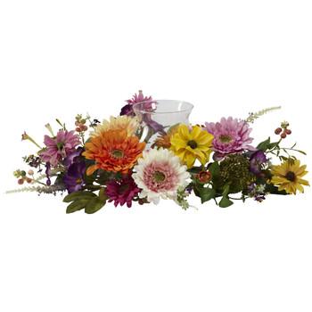 African Sunflower Candelabrum - SKU #4937