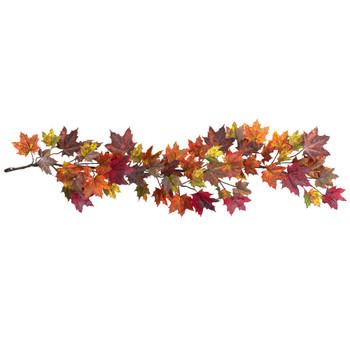60 Maple Leaf Garland - SKU #4939