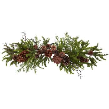 30 Pine Pine Cone Swag - SKU #4943