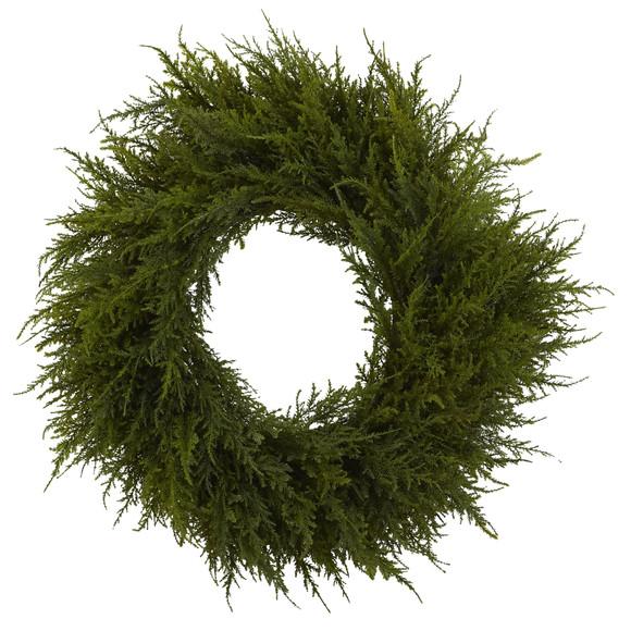 24 Cedar Wreath - SKU #4952