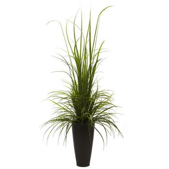 64 River Grass w/Planter Indoor/Outdoor - SKU #4969