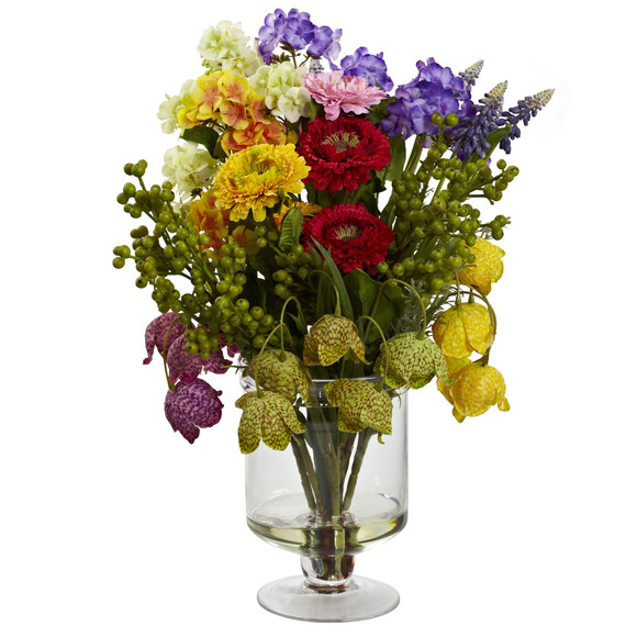 Spring Floral Arrangement - SKU #4987