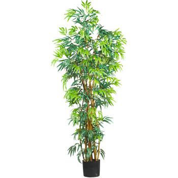 6 Fancy Style Bamboo Silk Tree - SKU #5188