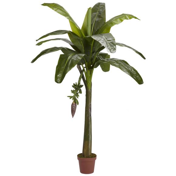 6 Banana Silk Tree Real Touch - SKU #5338
