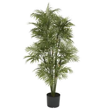 4 Plastic Parlour Palm Tree - SKU #5339