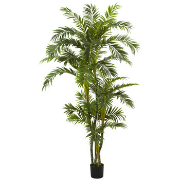 6 Curvy Parlor Palm Silk Tree - SKU #5348