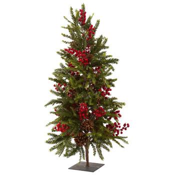 36 Pine Berry Christmas Tree - SKU #5350