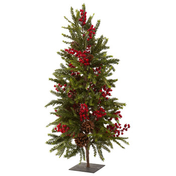 36 Pine Berry Christmas Tree - SKU #5350