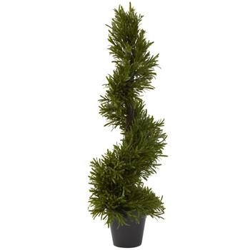 30 Rosemary Spiral Tree In-Door/Out-Door - SKU #5351