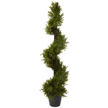 39 Rosemary Spiral Tree In-door/Out-door - SKU #5352