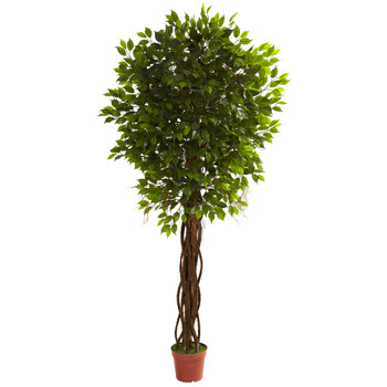 7.5 Ficus Tree UV Resistant Indoor/Outdoor - SKU #5379