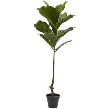 4 Fiddle Leaf Tree UV Resistant Indoor/Outdoor - SKU #5448