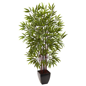 5 Bamboo Silk Tree w/Planter - SKU #5458