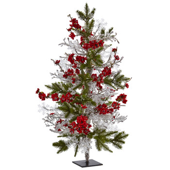 26 Plum Blossom Pine Ice Twig Tree - SKU #5478