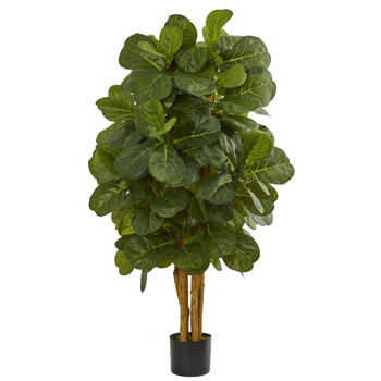 4 Fiddle Leaf Fig Artificial Tree - SKU #5490