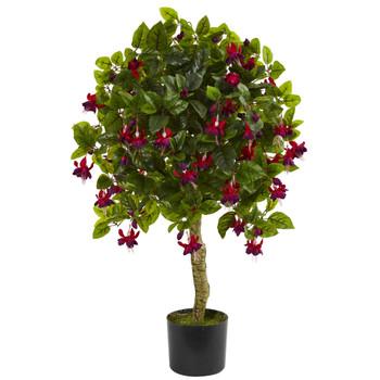 3 Fuchsia Artificial Tree - SKU #5503