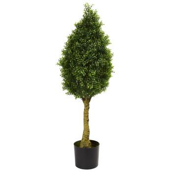 Boxwood Tower Artificial Tree UV Resistant Indoor/Outdoor - SKU #5516