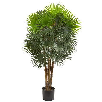 52 Fan Palm Artificial Tree - SKU #5547