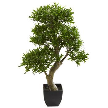 37 Podocarpus Artificial Tree - SKU #5552