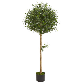 5 Olive Topiary Artificial Tree - SKU #5563