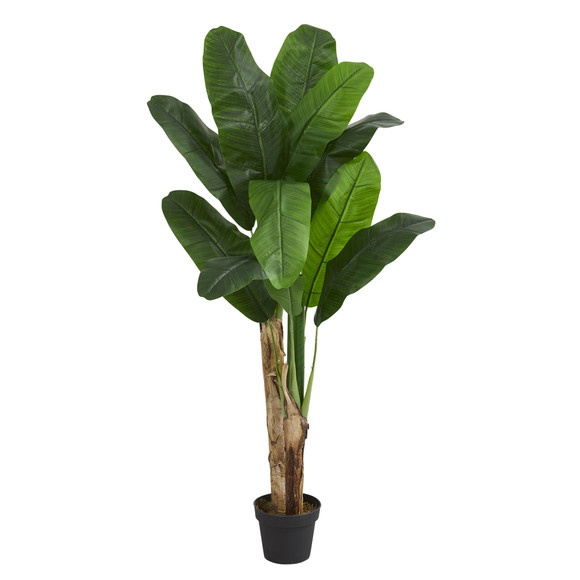 4 Double Stalk Banana Artificial Tree - SKU #5576