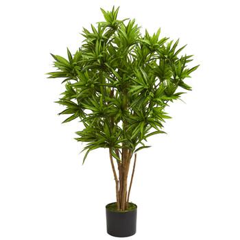 4 Dracaena Artificial Tree - SKU #5578