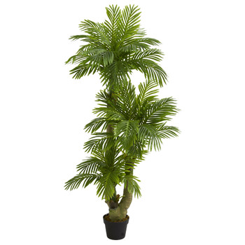 5 Triple Phoenix Palm Artificial Tree - SKU #5588