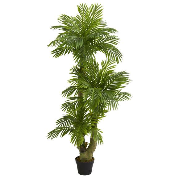 5 Triple Phoenix Palm Artificial Tree - SKU #5588