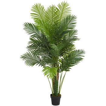 6 Hawaii Palm Artificial Tree - SKU #5592