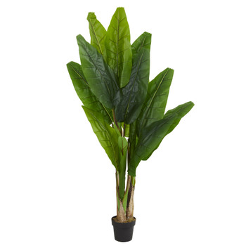 6 Triple Stalk Banana Artificial Tree - SKU #5600