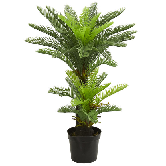 4.5 Double Potted Cycas Artificial Tree - SKU #5602