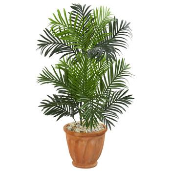 3.5 Paradise Palm Artificial Tree in Terra Cotta Planter - SKU #5657