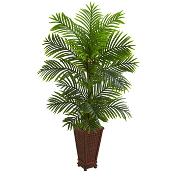 5 Kentia Palm Artificial Tree in Decorative Planter - SKU #5687