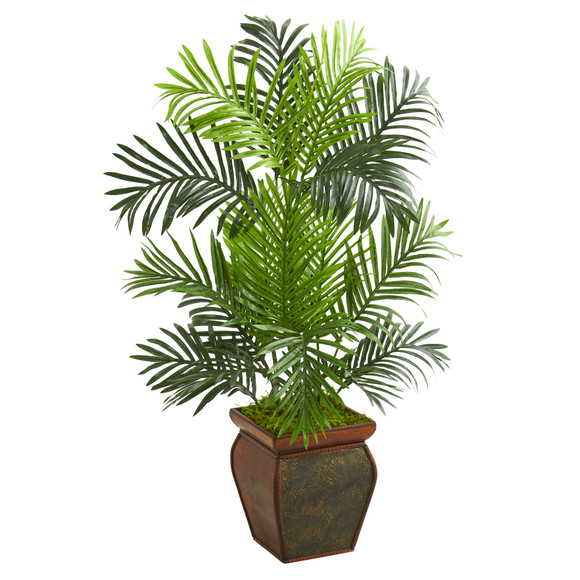 3 Paradise Palm Artificial Tree in Decorative Planter - SKU #5689