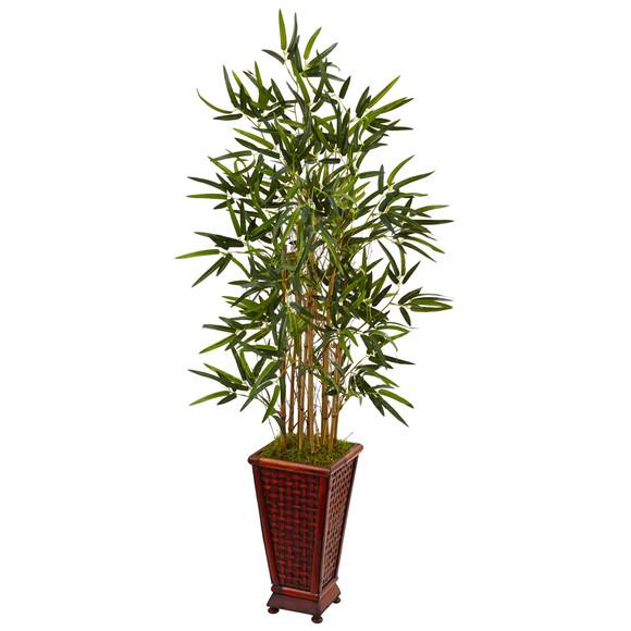 4.5 Bamboo Tree in Decorative Planter - SKU #5807