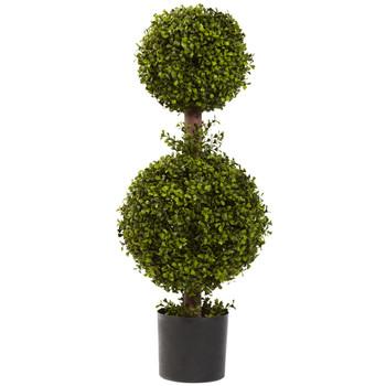 35 Double Boxwood Topiary - SKU #5920