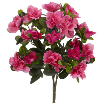 13 Azalea Artificial Plant Set of 4 - SKU #6067-S4