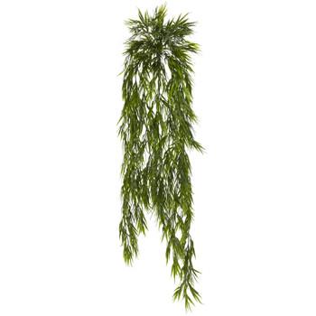 43 Mini Bamboo Hanging Bush Set of 2 - SKU #6074-S2