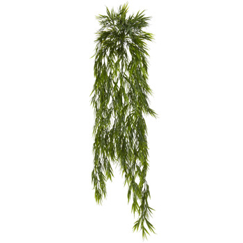 43 Mini Bamboo Hanging Bush Set of 2 - SKU #6074-S2