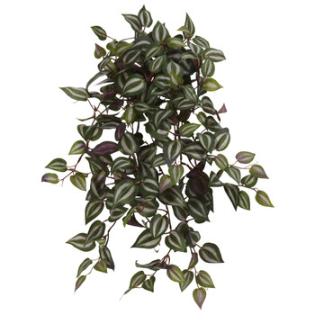 23 Wandering Jew Hanging Artificial Plant Set of 4 - SKU #6081-S4