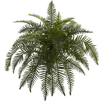 26 River Fern Artificial Plant Set of 2 - SKU #6119-S2