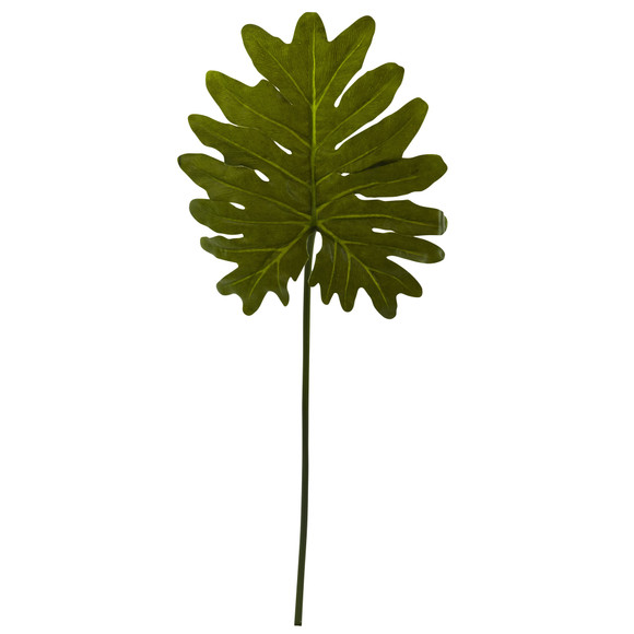 Selloum Philo Single Leaf Stem Set of 12 - SKU #6120-S12