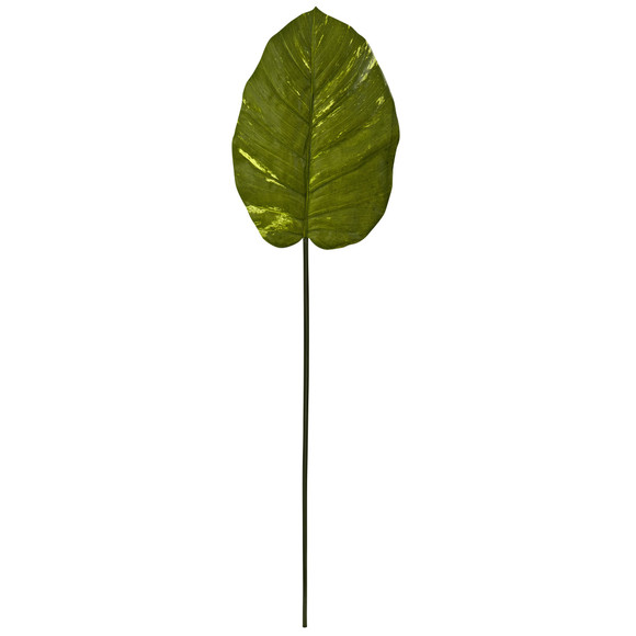 37.5 Giant Artificial Pothos Leaf Real Touch Set of 12 - SKU #6121-S12